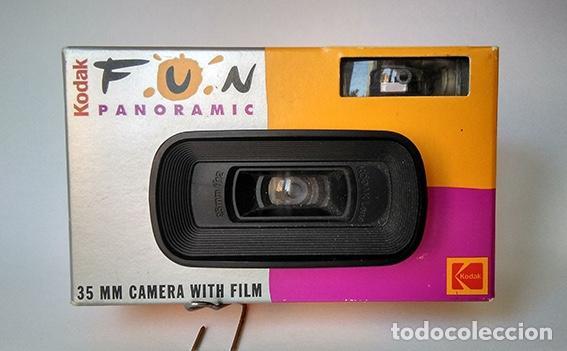 Cámara de fotos: Cámara un solo uso Kodak Fun Panoramic. Para 15 fotos panorámicas. Sin utilizar - Foto 5 - 215567551