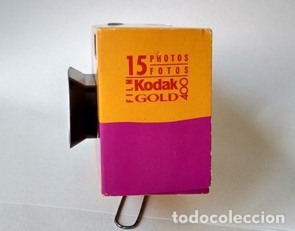 Cámara de fotos: Cámara un solo uso Kodak Fun Panoramic. Para 15 fotos panorámicas. Sin utilizar - Foto 6 - 215567551