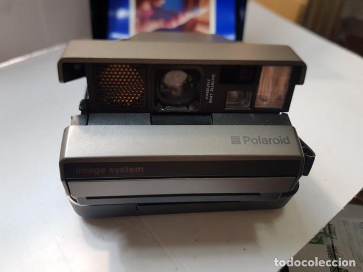 Cámara de fotos: Cámara Polaroid Image System en caja original y manual - Foto 2 - 217567951