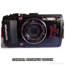 Cámara de fotos: CAMARA OLYMPUS ** TOUGH ** 2.1M/7FT SHOCKPROOF 15M/50FT WATERPROOF F2.0. Lote 218494275