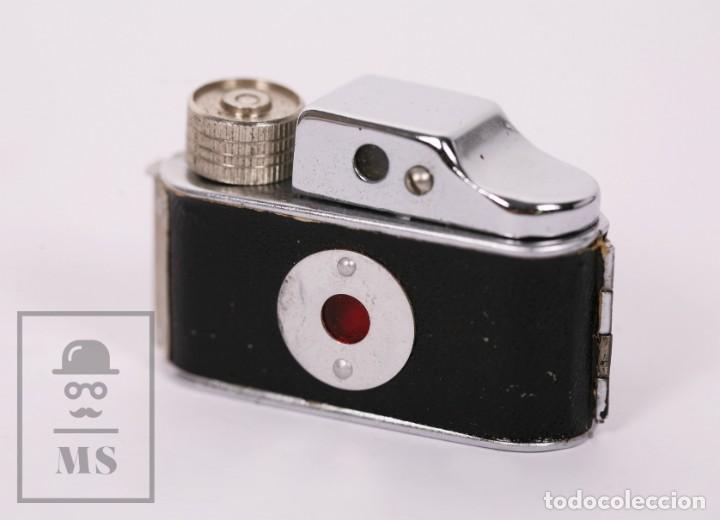 Cámara de fotos: Cámara Espía Toyoca en Miniatura con Funda Original y Película Homer Film - Japón, Años 60 - Foto 5 - 218598816