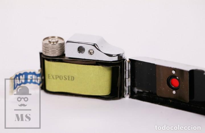 Cámara de fotos: Cámara Espía Toyoca en Miniatura con Funda Original y Película Homer Film - Japón, Años 60 - Foto 6 - 218598816