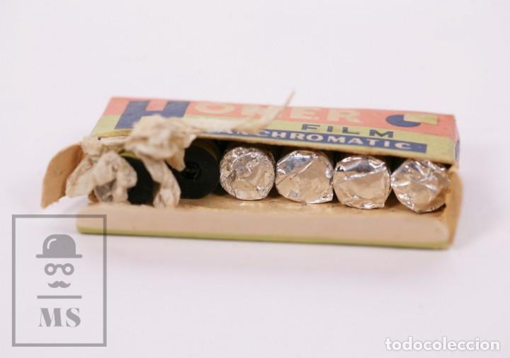 Cámara de fotos: Cámara Espía Toyoca en Miniatura con Funda Original y Película Homer Film - Japón, Años 60 - Foto 7 - 218598816