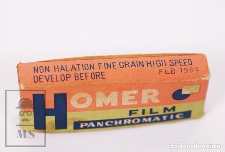 Cámara de fotos: Cámara Espía Toyoca en Miniatura con Funda Original y Película Homer Film - Japón, Años 60 - Foto 8 - 218598816