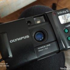 Cámara de fotos: OLYMPUS INFINITY S CAMARA FOTOGRAFICA DE CARRETE. Lote 222246271