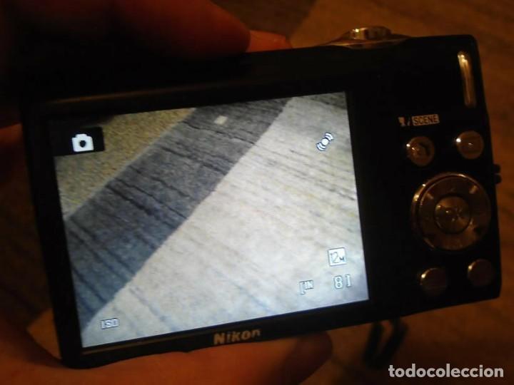 Cámara de fotos: cámara digital compacta nikon coolpix S3000 silver.en su caja original.regalo trípode araña. - Foto 6 - 223285085