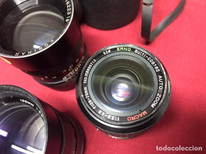 Cámara de fotos: CAMARAS ZENIT. LOTE DE CAMARAS,OBJETIVOS Y FLAS - Foto 11 - 224393558