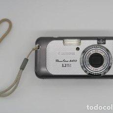 Cámara de fotos: CAMARA CANON POWERSHOT A410 . 3.2 MP . AÑO 2005 . FUNCIONANDO. Lote 226881270