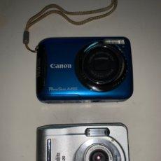 Cámara de fotos: LOTE 2 CÁMARAS CANON POWERSHOT A495 Y STARBLITZ. Lote 232533320