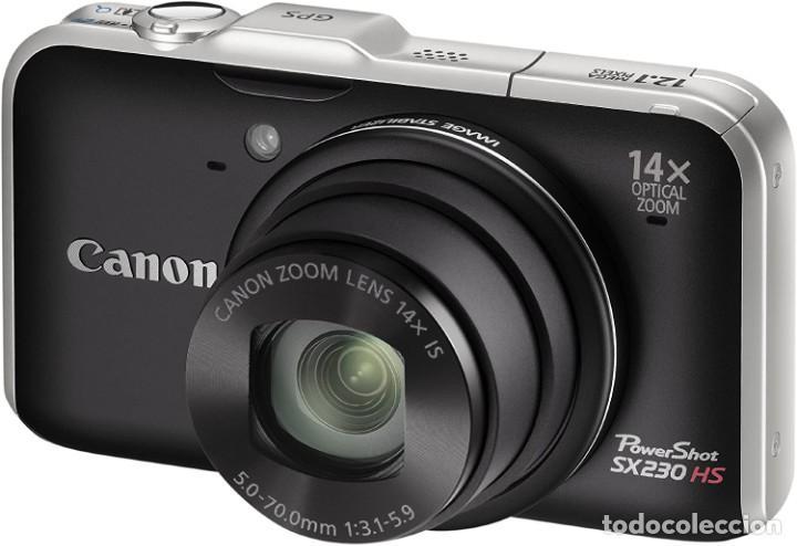 Cámara de fotos: CAMARA COMPACTA CANON POWERSHOT SX230 HS. - Foto 3 - 234583030