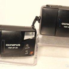 Cámara de fotos: 2 CAMARAS OLYMPUS TRIP AF 30 Y 31 SEGUNDA MANO NO FUNCIONAN. Lote 235996505