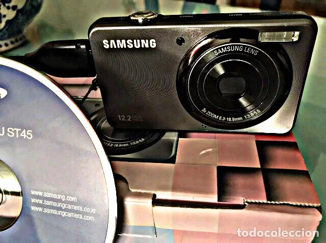 Cámara de fotos: Cámara de fotos 12'2 mega píxeles SAMSUNG ST45 Tal cual ves en fotos. - Foto 2 - 237374690