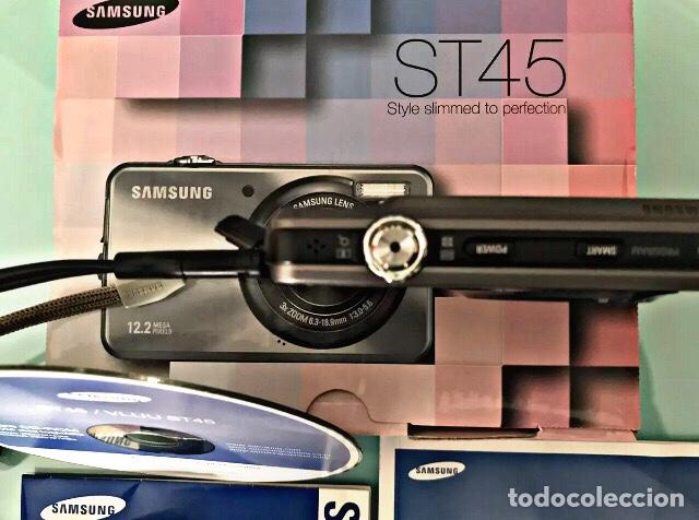 Cámara de fotos: Cámara de fotos 12'2 mega píxeles SAMSUNG ST45 Tal cual ves en fotos. - Foto 3 - 237374690