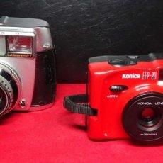 Cámara de fotos: 2 CAMARAS BALDASAMAT Y KONICA. Lote 239792245