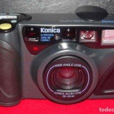Cámara de fotos: CÁMARA KONICA Z-UPW, ZOOM 28/56, DE 35 MM, FUNCIONANDO. Lote 241941550
