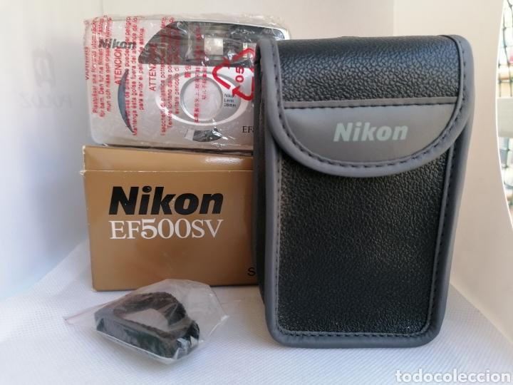 RARA CAMARA NIKON EF500SV 35 MM (135) !!NUEVA!! (Cámaras Fotográficas - Panorámicas y Compactas)