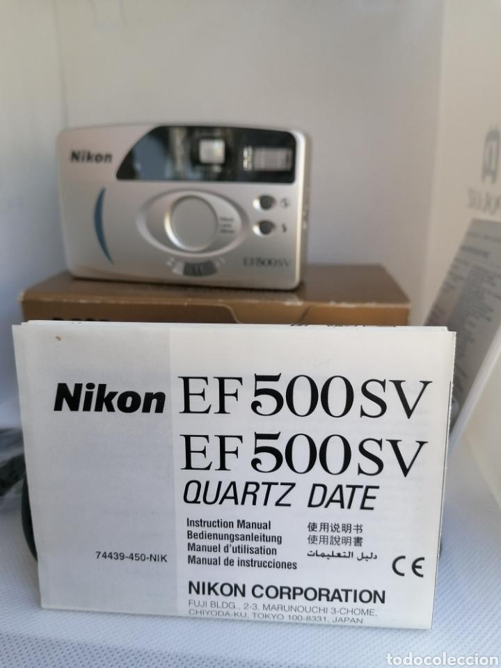 Cámara de fotos: RARA CAMARA NIKON EF500SV 35 mm (135) !!NUEVA!! - Foto 3 - 242453765