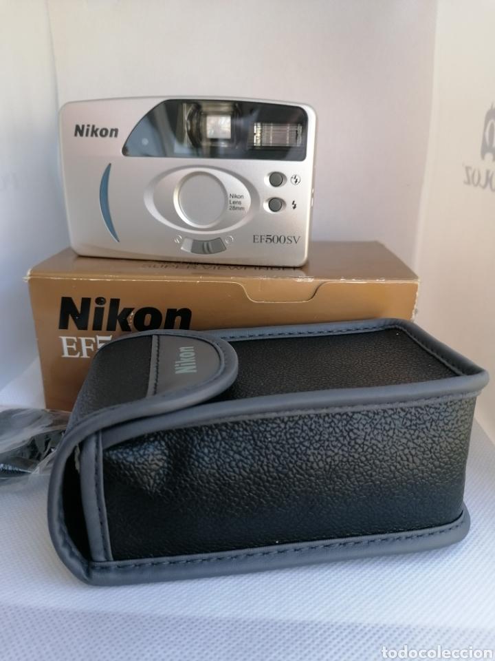 Cámara de fotos: RARA CAMARA NIKON EF500SV 35 mm (135) !!NUEVA!! - Foto 4 - 242453765