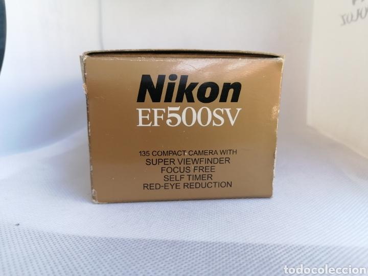 Cámara de fotos: RARA CAMARA NIKON EF500SV 35 mm (135) !!NUEVA!! - Foto 6 - 242453765