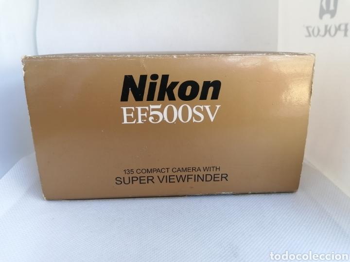 Cámara de fotos: RARA CAMARA NIKON EF500SV 35 mm (135) !!NUEVA!! - Foto 8 - 242453765