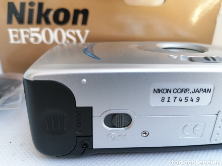 Cámara de fotos: RARA CAMARA NIKON EF500SV 35 mm (135) !!NUEVA!! - Foto 12 - 242453765