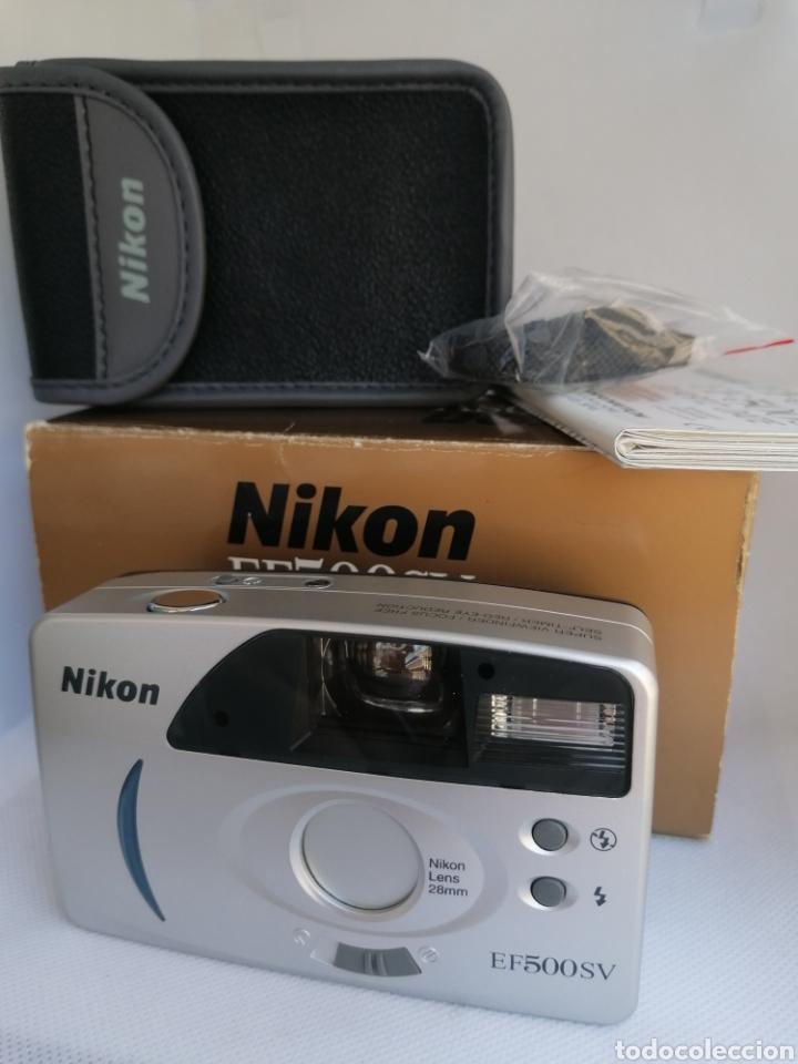 Cámara de fotos: RARA CAMARA NIKON EF500SV 35 mm (135) !!NUEVA!! - Foto 16 - 242453765