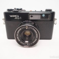 Cámara de fotos: YASHICA MG-1. Lote 243834970