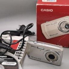 Cámara de fotos: CAMARA DE FOTOS DIGITAL CASIO EX-Z16 COMPLETA CON MANUALES, DISCO CARGADOR ETC. Lote 244469355