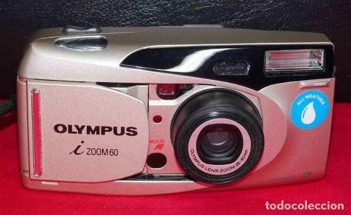 Cámara de fotos: Cámara OLYMPUS i ZOOM 60, de APS, funcionando - Foto 2 - 246222280