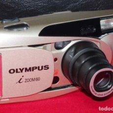 Cámara de fotos: CÁMARA OLYMPUS I ZOOM 60, DE APS, FUNCIONANDO. Lote 246222280