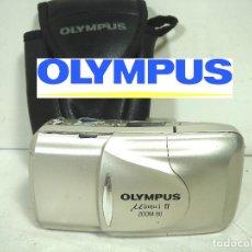 Cámara de fotos: OLYMPUS MJU II ZOOM 80 - CARRETE 35 MM -CAMARA DE FOTOS FOTOGRAFICA 35MM. Lote 246433860