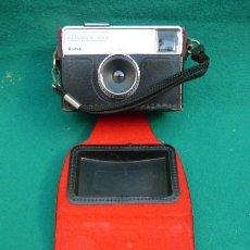 Cámara de fotos: LA MITICA KODAK INSTAMATIC 133,,CON ESTUCHE ORIGINAL DE EPOCA. AÑOS 70.FUNCIONANDO.. Lote 247643290