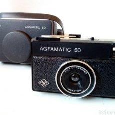 Cámara de fotos: AGFAMATIC 50 - CÁMARA FOTOGRÁFICA FORMATO 126 - VINTAGE, HIPSTER, LOMOGRAPHY, FOTOGRAFÍA ANALÓGICA -. Lote 247657645