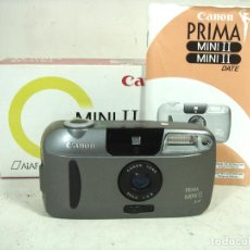 Fotocamere: CANON PRIMA MINI II ¡¡PERFECTA¡¡ + CAJA ÌNSTRUCCIONES - CAMARA DE FOTOS 35MM - FOTOGRAFICA 35 MM. Lote 253062930