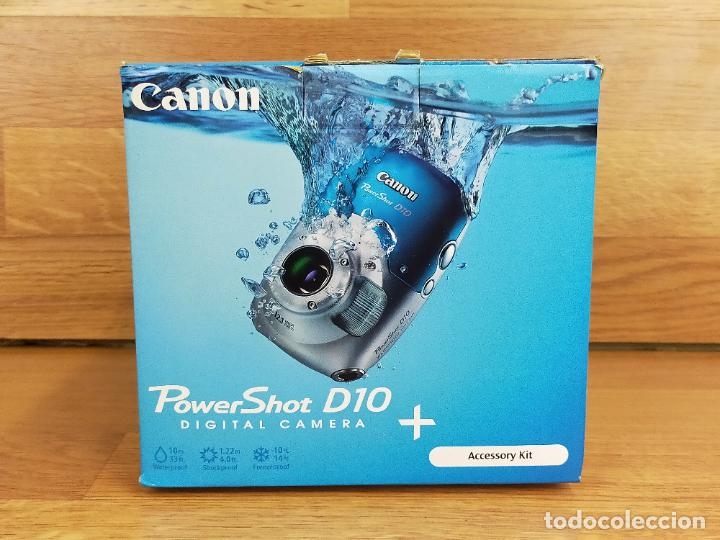 Cámara de fotos: Canon PowerShot D10 - Cámara Digital Compacta 12.1 MP - Plata - Foto 2 - 255356735
