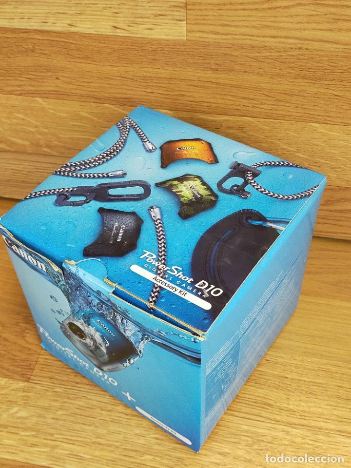 Cámara de fotos: Canon PowerShot D10 - Cámara Digital Compacta 12.1 MP - Plata - Foto 3 - 255356735