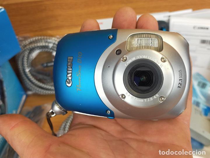 Cámara de fotos: Canon PowerShot D10 - Cámara Digital Compacta 12.1 MP - Plata - Foto 5 - 255356735