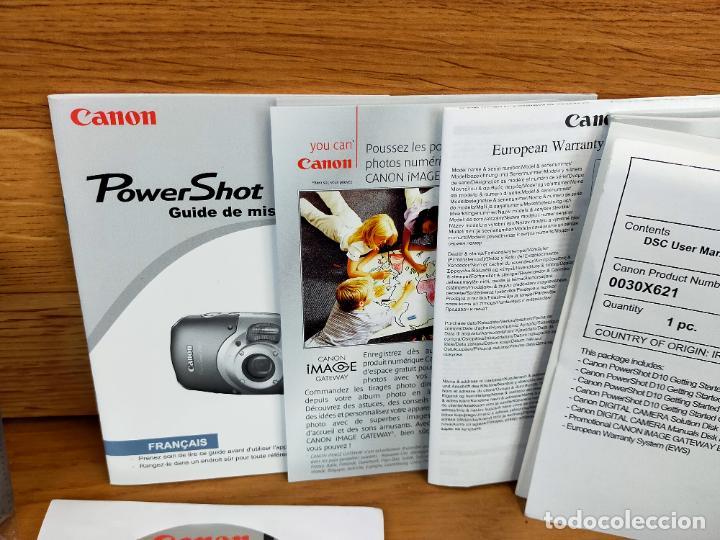 Cámara de fotos: Canon PowerShot D10 - Cámara Digital Compacta 12.1 MP - Plata - Foto 12 - 255356735