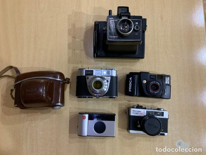 LOTE DE 5 CÁMARAS (Cámaras Fotográficas - Panorámicas y Compactas)