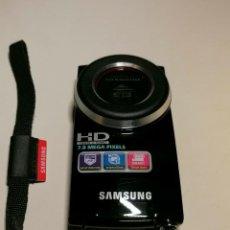 Fotocamere: SAMSUNG HMX-U20 HD 7.8 MEGAPIXEL CAMCORDER NEGRO. Lote 271036683