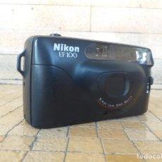 Câmaras de fotos: CAMARA DE FOTOS VINTAGE NIKON EF100 NIKON LENS 35MM MACRO MADE IN MALAYSIA - FUNCIONA. Lote 273217548