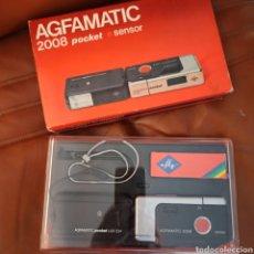 Cámara de fotos: CÁMARA AGFAMATIC 2008 SENSOR Y AGFAMATIC FLASH POCKET LUX 234. Lote 274782268