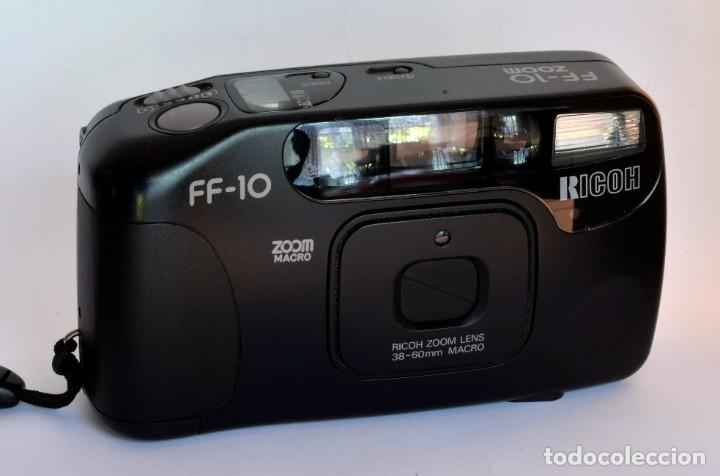 CÁMARA ANALÓGICA COMPACTA RICOH FF-10 (Cámaras Fotográficas - Panorámicas y Compactas)