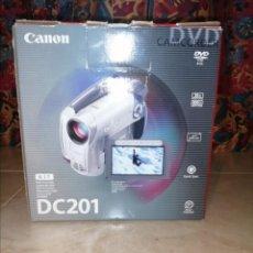 Cámara de fotos: CÁMARA CANON CAMCODER DC 201. Lote 275256978