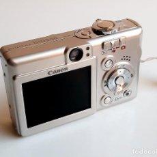 Câmaras de fotos: LINDA CAMARA CANON IXUS 50 COMPACTA. Lote 282221573