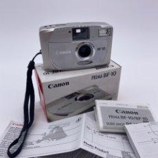 Cámara de fotos: CÁMARA DE CARRETE CANON PRIMA BF-10. Lote 282591818