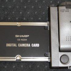 Cámara de fotos: SHARP CE-AG04 PC CARD DIGITAL CAMERA PCMCIA VINTAGE FOR SHARP HC-4500 HC-4600 COMPUTER. Lote 286636203