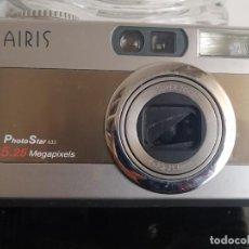 Cámara de fotos: CÁMARA DIGITAL AIRIS PHOTO STAR 633 5,25 MEGAPIXELS. SIN TARJETA, DESCONOZCO SI FUNCIONA. Lote 288891338