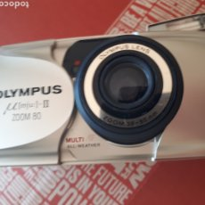 Fotocamere: OLYMPUS U MJU II ZOOM 80FUNCIONANDO. Lote 293570603
