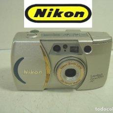 Cámara de fotos: NIKON LITE TOUCH ZOOM 70WS AF - FUNCIONANDO - CAMARA FOTOS 35 MM - MUY BUEN ESTADO -FOTOGRAFICA COMP. Lote 293584153